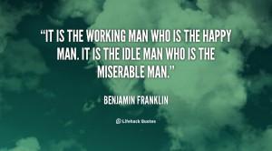 Hard Working Man Quotes