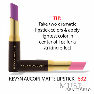 KEVYN AUCOIN MATTE LIPSTICK, rich in pigment and long wearing. SHOP ...