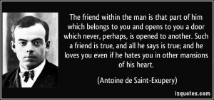 More Antoine de Saint-Exupery Quotes