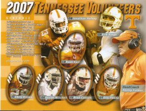 tennessee vols football schedule Image