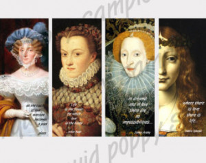 Instant Download of Bookmarks Digi tal Collage Sheet Queen Victoria ...