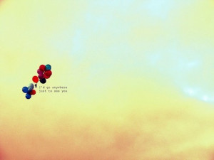 Balloons, quotes and words pictures