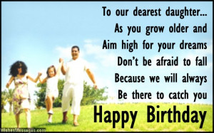 ... daughter from mom and dad Birthday Wishes for Daughter: Quotes and