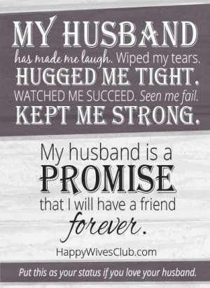 My husband is my hero!
