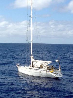 Re: Abandoned Boat 100+ miles at sea.