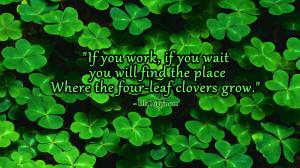 four leaf clover wallpaper Four Leaf Clovers | Ella Higginson