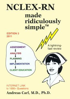 NCLEX study book for visual learners