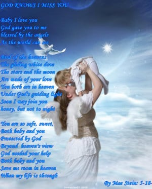 Angels In Heaven Quotes Poems I wrote a poem, sent to heaven