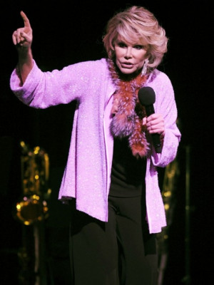 Joan Rivers On Double Standards