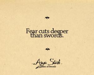 Arya Quotes - arya-stark Fan Art