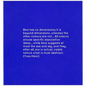 Colour Obsession: Yves Klein, Pablo Picasso And The Colour Blue