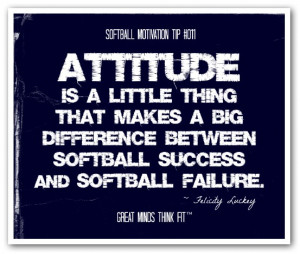 college softballs inspiring softball goals quote