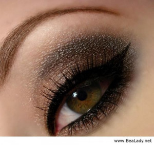 Girls With Hazel Eyes Quotes Smokey eye hazel-green eyes