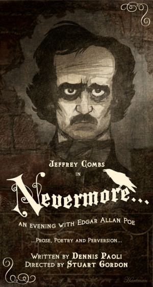 Nevermore – An evening with Edgar Allan Poe