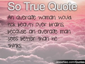 Quotes About Beauty and Brains