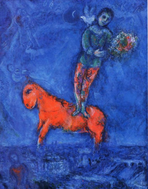 Marc Chagall: Child With A Dove 1977-78