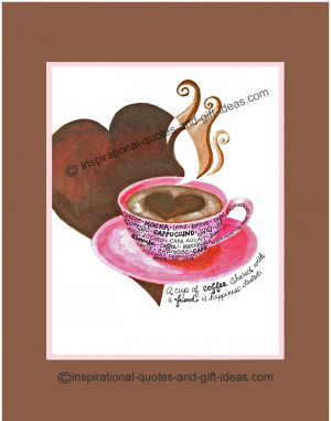 Coffee Quotes For Friendship and Fun!