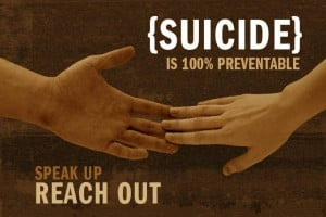 Suicide can be defined as a willful, self-inflicted, life threatening ...