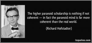 More Richard Hofstadter Quotes