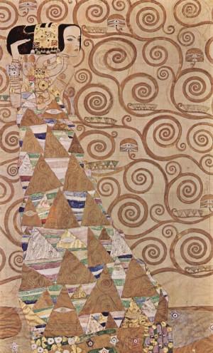 Expectation, 1905 by Gustav Klimt