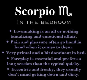 Scorpiology-All About Scorpio*