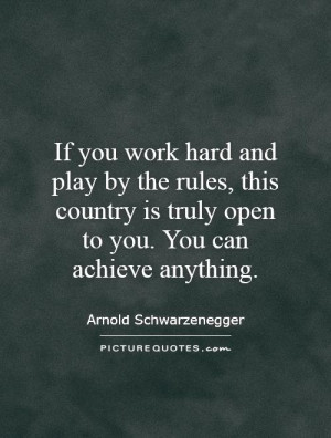 ... is truly open to you. You can achieve anything. Picture Quote #1
