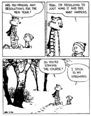 love Calvin and Hobbes.