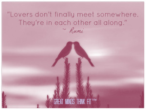 Rumi Love Quotes Rumi love quote.