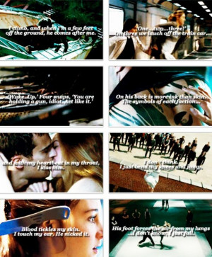 Divergent Trailer and Quotes featuring Theo James as Four and Shailene ...