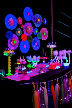 Glow in the Dark Birthday Party Ideas