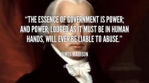 James Madison Quotes
