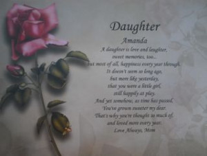 Daughter Poems Verses Quotes