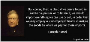More Joseph Hume Quotes