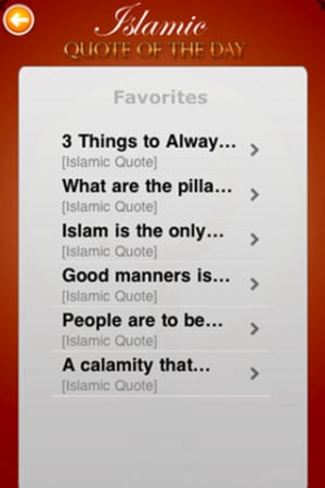 Download Islamic Quote of the Day iPhone iPad iOS