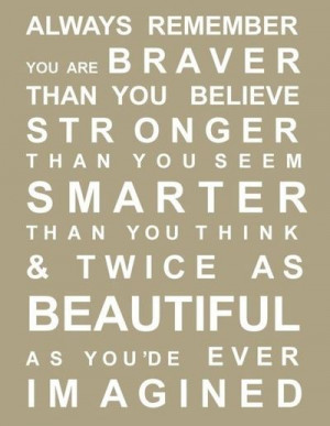 love this pooh bear quote!!