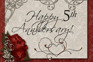 5th Year Wedding Anniversary Quotes For Husband ~ A Day in the Life of ...