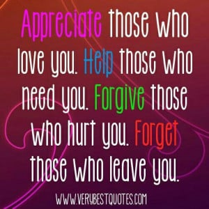 Forgiveness friendship quote
