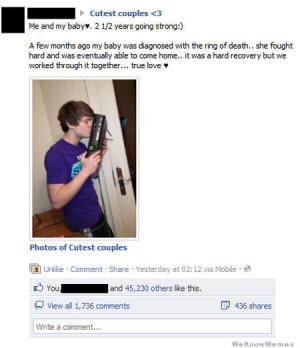 16 Funniest Facebook 'Cutest Couples'