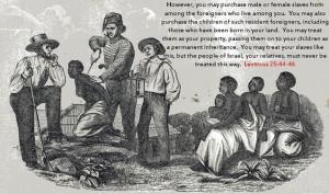 slavery bible quote atheist theist