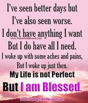 Am Blessed Quotes
