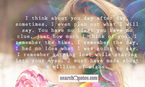 Secret Crush Quotes For Facebook Status Much i think of you quotes