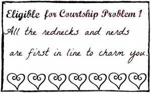 Eligible for Courtship Problem 1