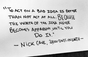nick cave quote 20000 days on earth