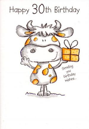 Happy 30th Birthday - Sending You Birthday Wishes