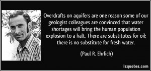 More Paul R. Ehrlich Quotes