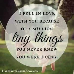 Yep :-) I love my husband!