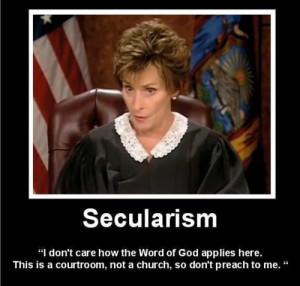 Judge Judy…!http://theatheistblog.tumblr.com/