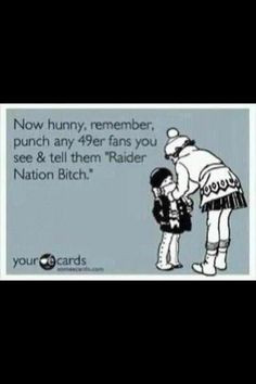 funny, footbal season, boyfriend, true stori, raiders football quotes ...