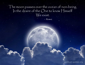 Quote on spirituality by Rumi