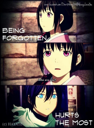 Noragami ~~ Oh, the agony of this moment. Then it happened to Yukine ...